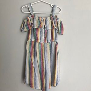 Old Navy rainbow dress